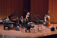 Improvisation Ensemble performing at ANU Showcase concert, September 2014. Photo by Peter Hislop