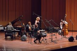 Improvisation Ensemble performing at ANU Showcase concert, September 2014. Photo by Peter Hislop