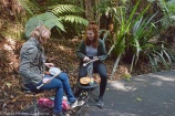 EMS at the Botanic Gardens for CIMF. Photo by Peter Hislop. May 2016.