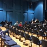 Ensemble Offspring rehearsing my piece. May 2016.